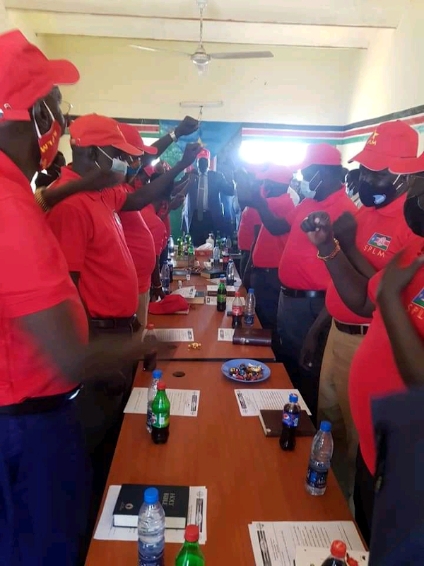 SPLM Unity State'Interim Chairperson Directs Counties Chairpersons to Strategize on Party Membership Mobilization