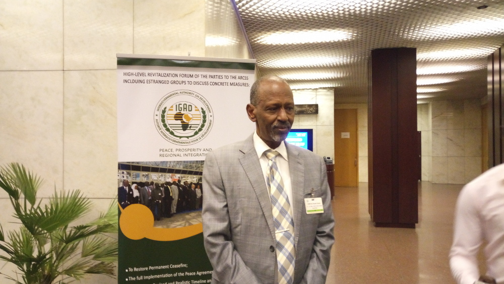 IGAD Special Envoy to South Sudan, Ismail Wais | photo | Hellen Achayo