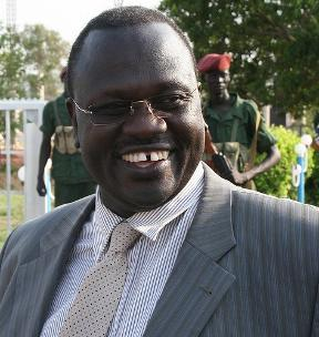 Dr. Riek Machar vice-president of the Republic of South Sudan